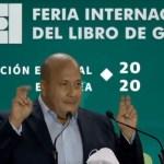 #Video Enrique Alfaro califica de 'ridículas' críticas de AMLO a la FIL Guadalajara