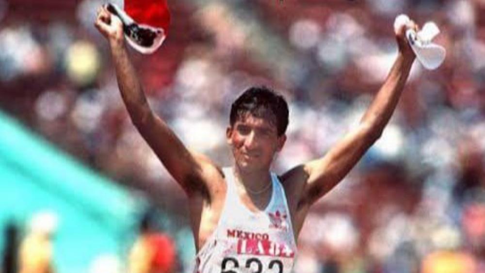Falleció el marchista mexicano Ernesto Canto, Oro olímpico en Los Ángeles 84