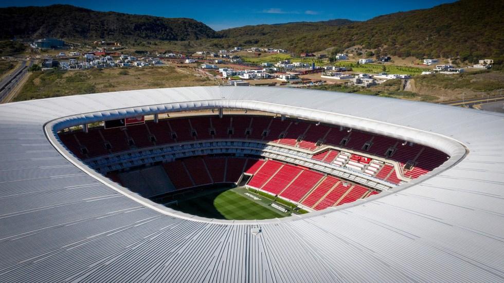 Estadio Akron volverá a cerrar sus puertas; Chivas vs León se jugará sin público - Estadio Akron de las Chivas del Guadalajara. Foto de @EstadioAkron