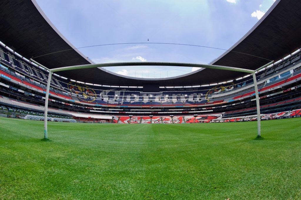 Estadios continuarán bajo las reglas de semaforización esta temporada, reitera Secretaría de Salud - Foto de @EstadioAzteca