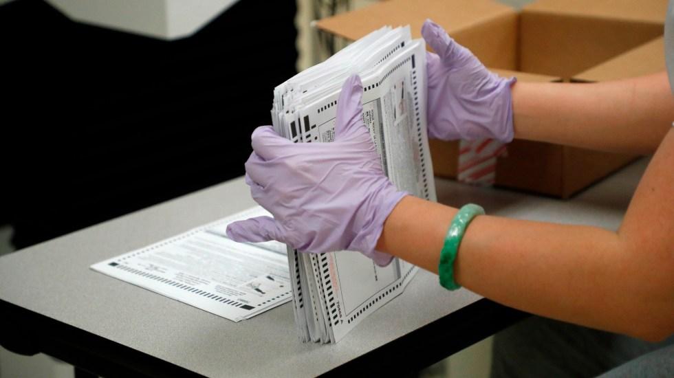Supremo de Estados Unidos ordena separar en Pensilvania votos tardíos - Foto de EFE