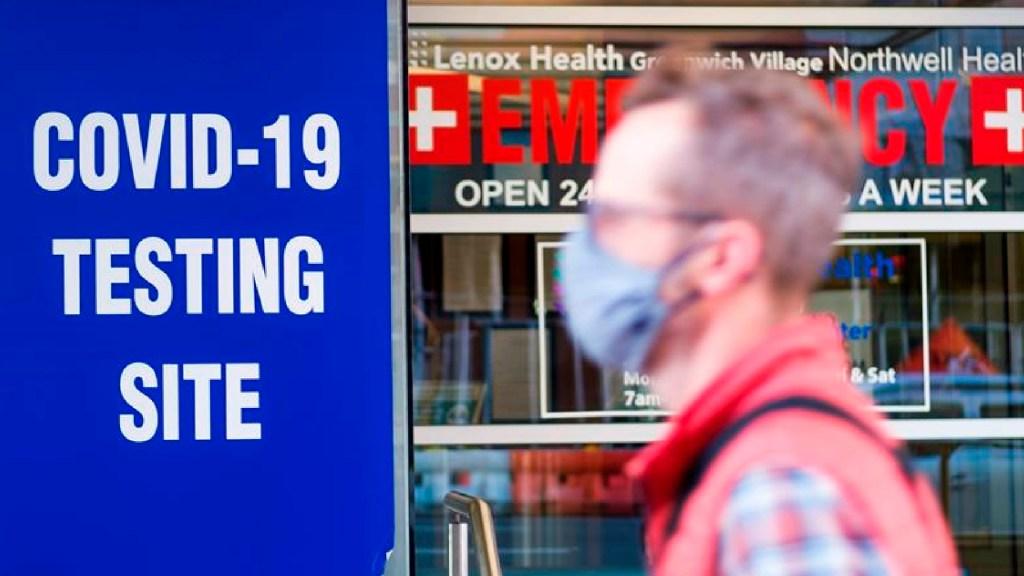 EE.UU. alcanza una mortalidad covid sin precedentes a las puertas del invierno. Noticias en tiempo real