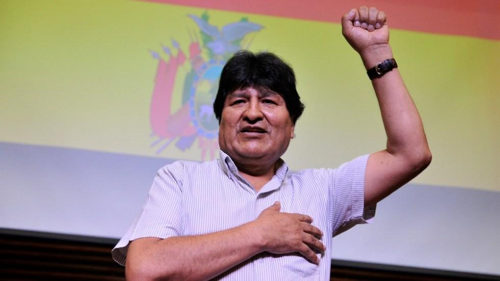 Evo Morales confirma que el lunes regresará a Bolivia desde Argentina - Foto de EFE