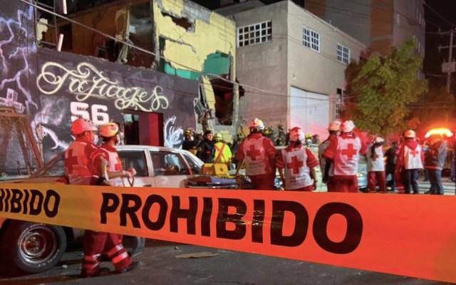 Aumenta a 25 el número de lesionados por explosión en vecindad de la colonia Morelos; hay dos muertos - Foto de Twitter @julio_morenori
