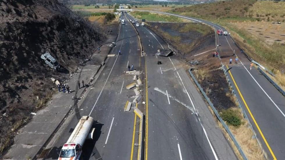 Murió única sobreviviente de explosión en pipa en Nayarit; aumenta a 15 cifra de víctimas - Foto de Secretaría de Seguridad de Nayarit