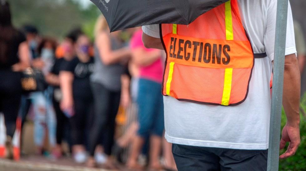 Casi nueve millones de personas votaron ya en una incierta Florida - Foto de EFE