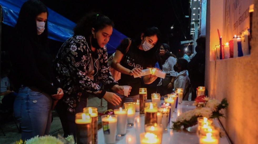 Familiares y amigos despiden en funeral a Alexis, la joven asesinada en Cancún cuyo caso originó la protesta reprimida a balazos - Foto de EFE