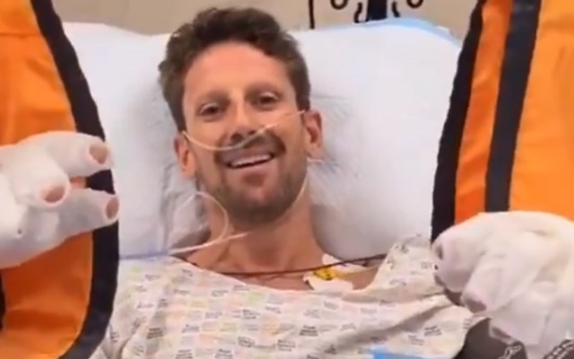 #Video Romain Grosjean asegura que está bien tras grave accidente enGran Premio de Baréin - Grosjean