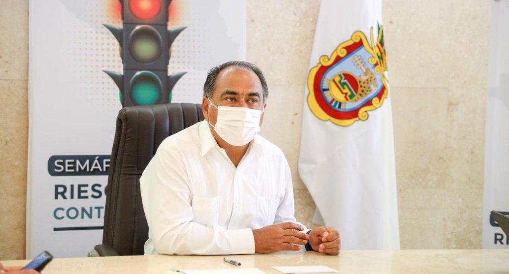 Guerrero suspende congregaciones y fiestas guadalupanas y decembrinas - El gobernador de Guerrero, Héctor Astudillo. Foto de @HectorAstudillo