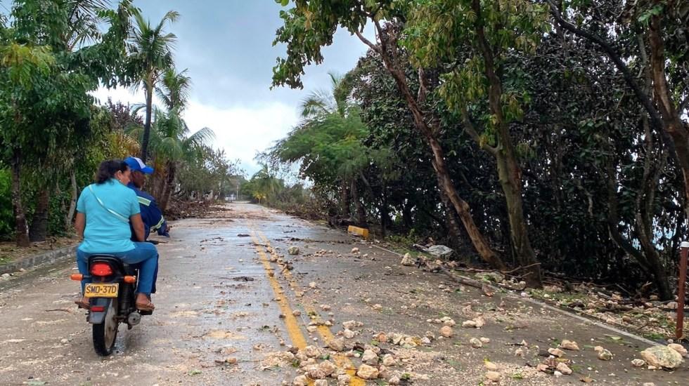Iota se disipa pero amenaza con más lluvias e inundaciones a Centroamérica y la Península de Yucatán - Foto de EFE