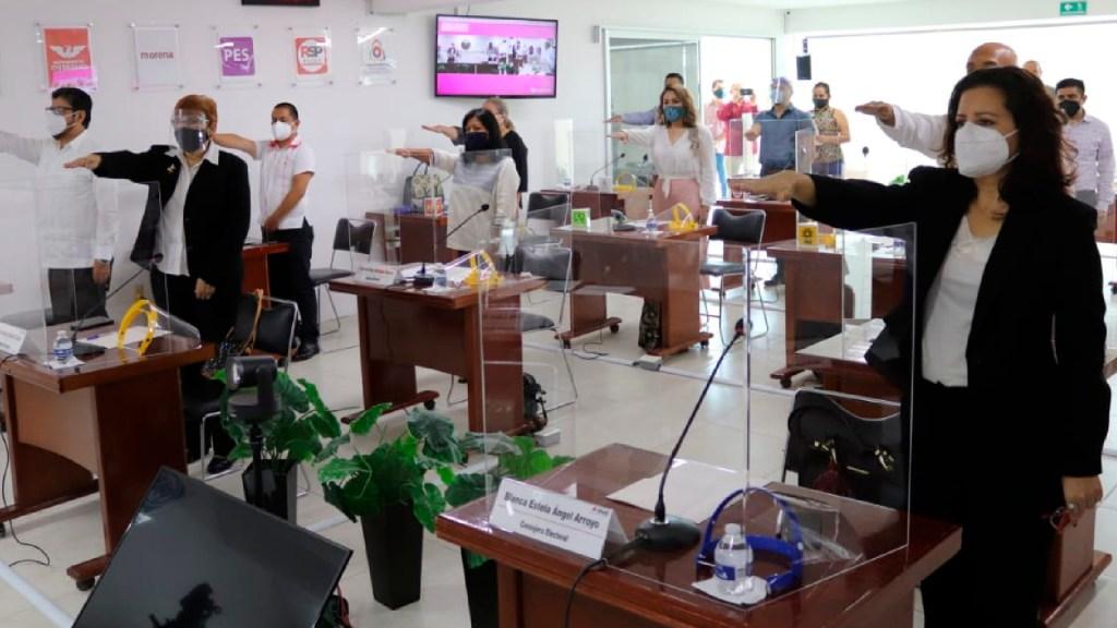 """""""Pandemia"""" de violencia contra las mujeres será posible erradicar con funcionarios comprometidos: INE - Foto Twitter @INEMexico"""