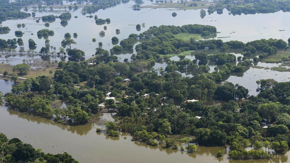 """A AMLO le dolió inundar zonas indígenas en Tabasco. """"Se tenía que tomar una decisión"""", afirmó - Foto de lopezobrador.org.mx"""