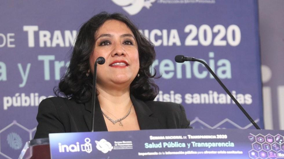 Crisis por COVID-19 vino como anillo al dedo a la 4T, afirma Irma Eréndira Sandoval - Irma Eréndira Sandoval en Semana Nacional de Transparencia 2020. Foto de @INAImexico