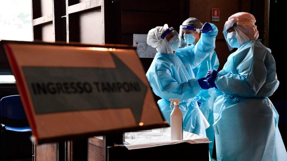 Italia supera de nuevo los 40 mil nuevos contagios por COVID-19 y endurece restricciones - Foto de EFE