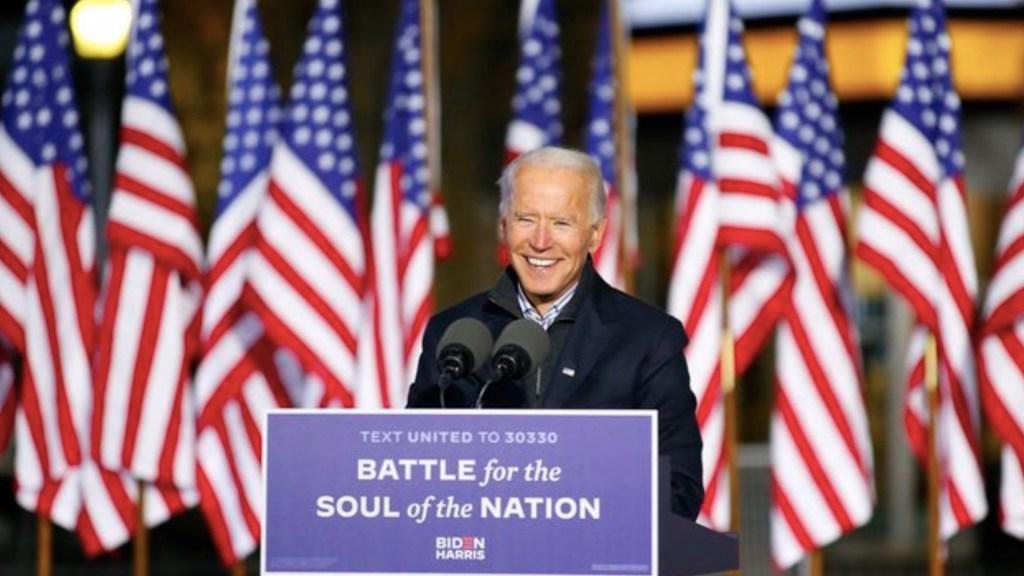 Joe Biden, electo presidente 46 de Estados Unidos - Foto de Twitter Joe Biden