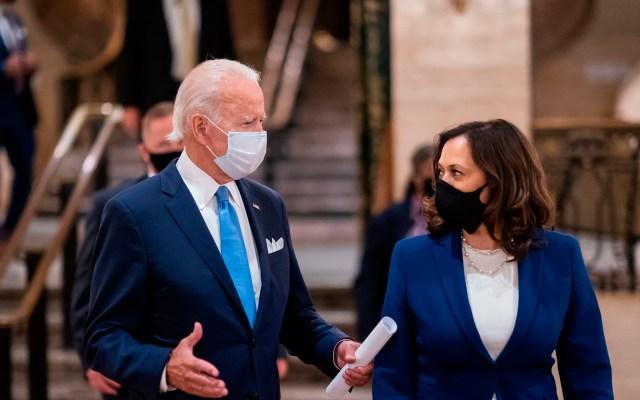 """Confía Joe Biden que ganará """"a lo grande"""" las elecciones presidenciales frente a Trump - Foto Twitter @KamalaHarris"""