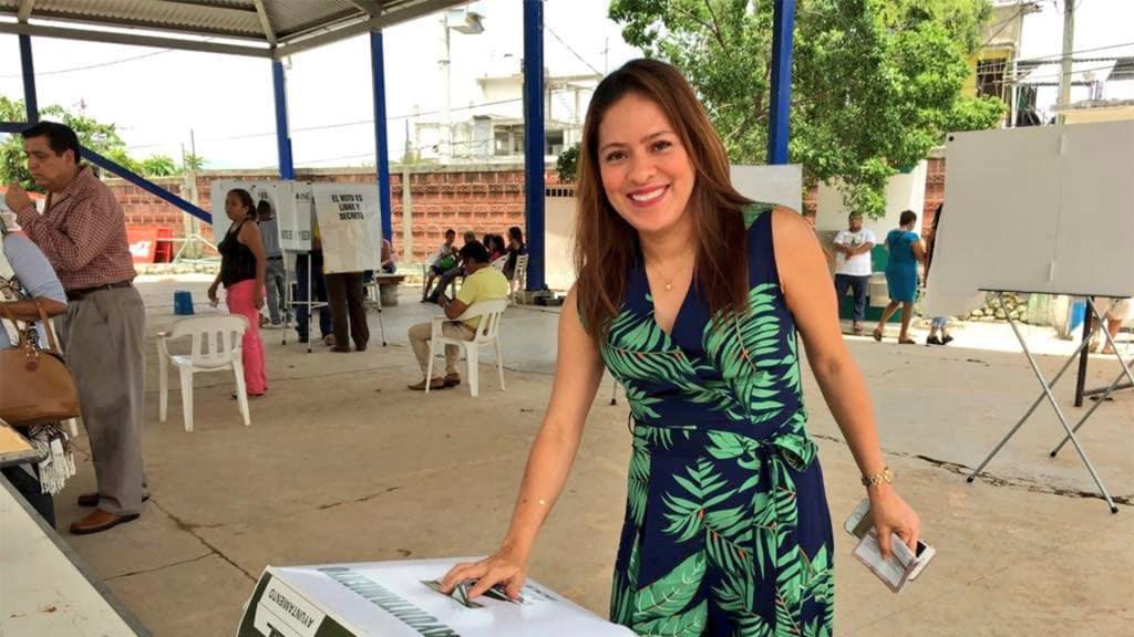 Pese a alianzas, el Partido Verde tiene identidad propia, señala Karen Castrejón, su nueva dirigente - Karen Castrejón Trujillo. Foto de Facebook.