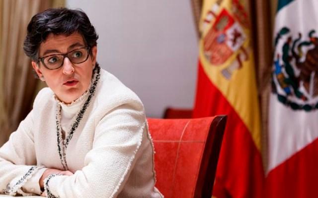 España asistirá al Bicentenario de México, pero no se disculpará por conquista como ha solicitado AMLO - La ministra española de Asuntos Exteriores, Arancha González Laya, explicó que España participará el próximo año en la conmemoración de los 200 años de la independencia de México. Foto EFE