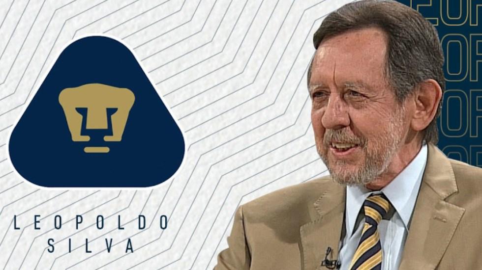 Leopoldo Silva será presidente de la Junta Directiva de los Pumas - Foto de TUDN