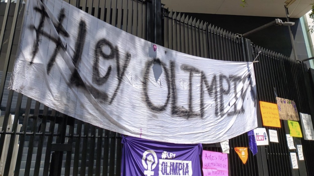 Senado aprueba Ley Olimpia para erradicar violencia digital; contempla penas de tres a seis años de cárcel - Foto de Twitter Olimpia Coral