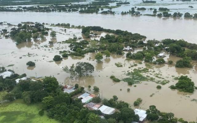 Incremento de ríos en Tabasco mantiene en alerta a cinco municipios - Foto de Protección Civil Tabasco