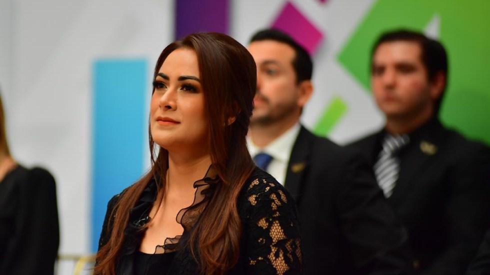 Aparece alcaldesa Teresa Jiménez de Aguascalientes en película de Netflix; INE descarta sanción - María Teresa Jiménez Esquivel, alcaldesa de Aguascalientes. Foto de @TereJimenezAgs