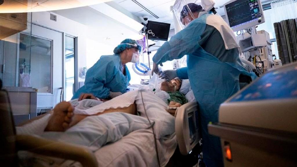 COVID-19 en la Ciudad de México: aumenta saturación de camas en hospitales IMSS e ISSSTE - Más de 500 hospitalizados por COVID-19 suma California en solo un día. Foto EFE