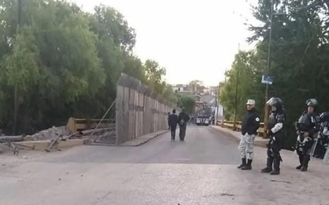 Guardia Nacional retira plantón de opositores a planta termoeléctrica en Morelos - Foto de Diario de Morelos