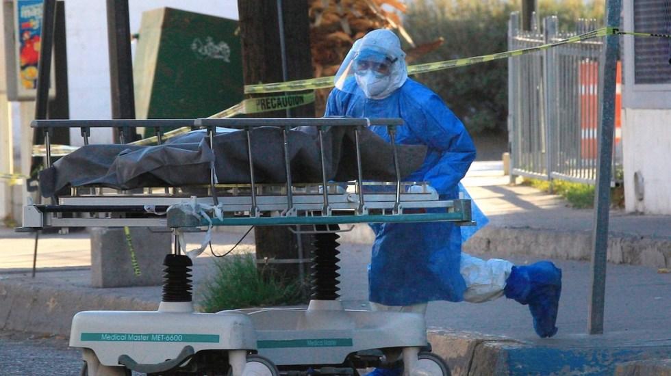 COVID-19 se convirtió en la segunda causa de muerte en México - Foto de EFE