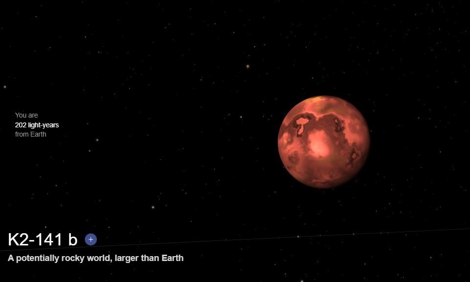 Planeta K2-141b Exoplaneta 2