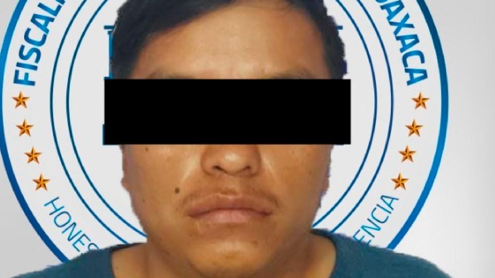 Detienen al presunto violador de una bebé de un año de edad en Oaxaca - Foto Twitter @FISCALIA_GobOax