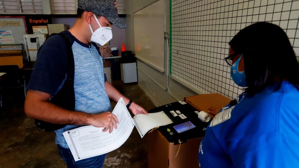 Fin de jornada electoral en Puerto Rico con personas sin votar - Foto de EFE