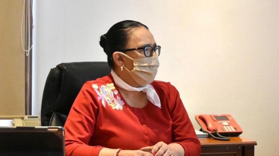 Acepta Rosa Icela Rodríguez ser nueva titular de SSPC; asumirá el cargo tras recuperarse del COVID-19 - Rosa Icela Rodríguez. Foto de @rosaicela_
