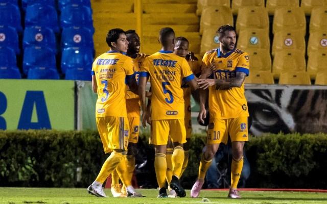 Gignac lleva a Tigres UANL a cuartos de la Liga MX con dos goles sobre Toluca - Tigres Toluca partido 22 11 2020