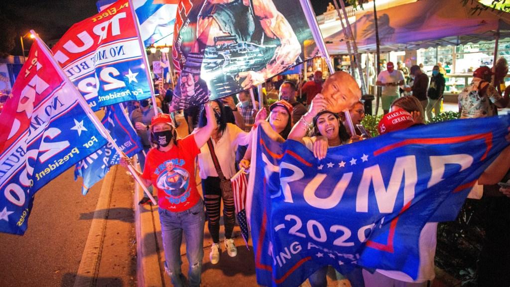El voto de latinos, aunque divididos, le alcanzó a Trump para ganar Florida - Foto de EFE
