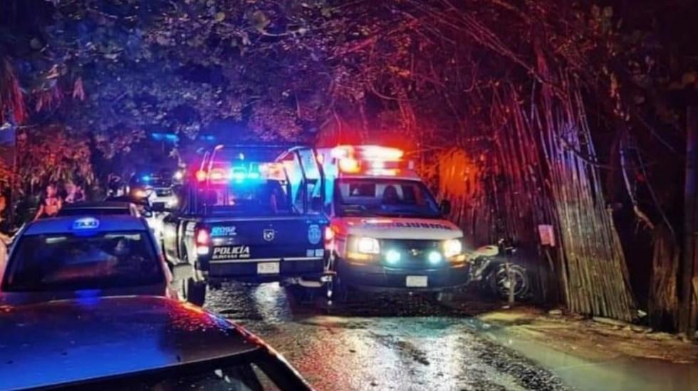 Concierto de Halloween en Tulum termina en balacera que dejó dos muertos - Foto de Tulum Al Momento