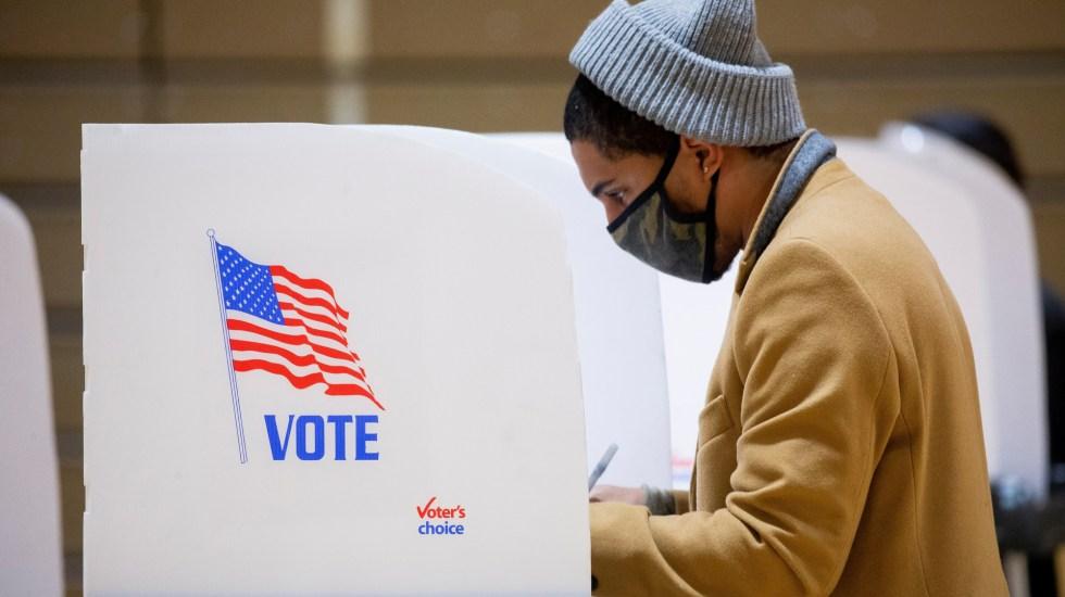 EE.UU. elegirá a su próximo presidente, pero ¿qué más se vota? - Voto adelantado en Maryland. Foto de EFE