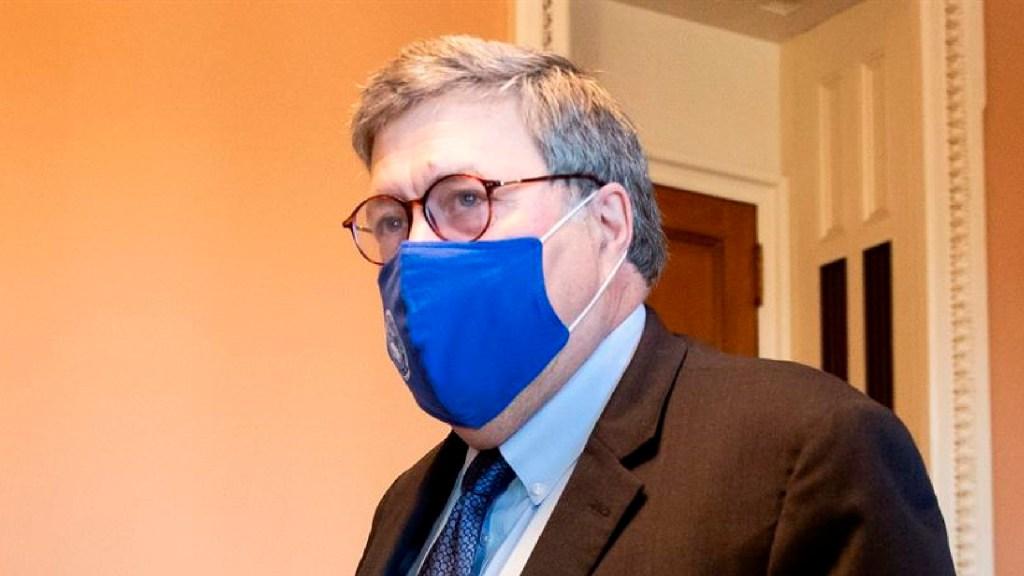 Fiscal General William Barr autoriza investigar supuesto fraude electoral en EE.UU. - Foto EFE