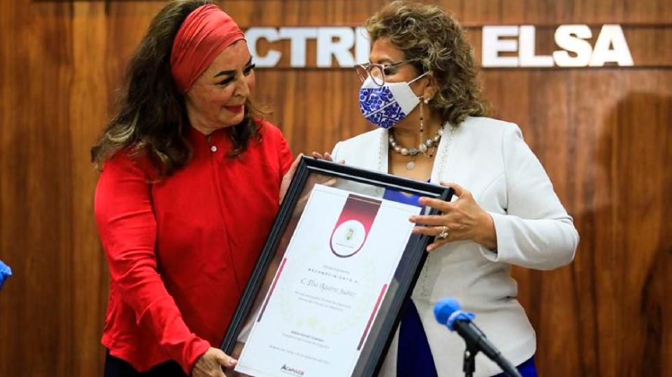 Acapulco galardona a la actriz Elsa Aguirre, símbolo del cine de oro mexicano - Acapulco galardona a la actriz Elsa Aguirre, símbolo del cine de oro mexicano. Foto EFE