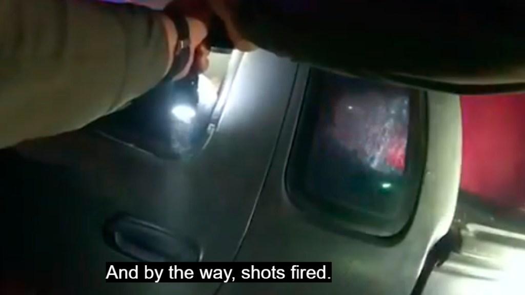 #VIDEO Policía acribilla a sospechoso en Florida por simular estar armado - Agentes de Florida ruegan a sujeto que suelte un arma y tras negarse lo matan a tiros. Foto Captura de pantalla