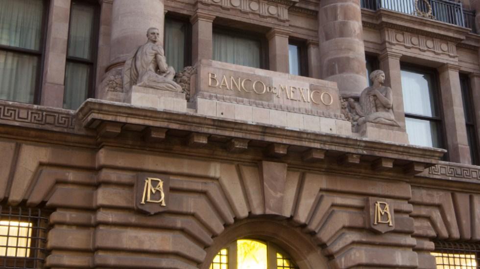 Banxico no obtuvo remanentes en 2020 para el gobierno - Edificio del Banco de México. Banxico no obtuvo remanentes en 2020 para el Gobierno. Foto de archivo.