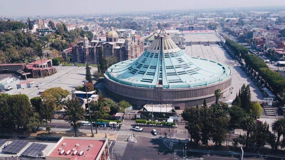 Misa desde la Basílica de Guadalupe - Basílica de Guadalupe CDMX. Foto de @Claudiashein