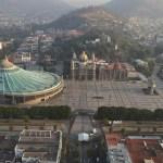 Misa dominical desde la Basílica de Guadalupe - Toma aérea de la Basílica de Guadalupe. Foto de @lopezobrador_
