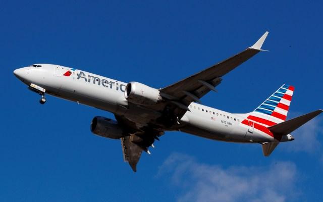 Reanuda Boeing vuelos del modelo 737 MAX con viaje entre Miami y Nueva York - Avión Boeing 737 MAX de American Airlines. Foto de EFE