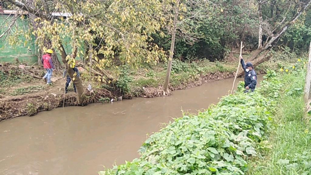 Encuentran en Chiapas cuerpo de niña arrastrada por el río Amarillo - Búsqueda del cuerpo de la menor Celina N., quien cayó al río Amarillo. Foto de @y_dpm