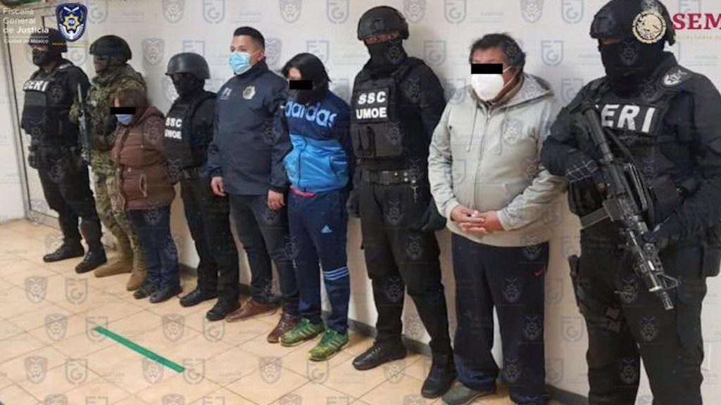 Detienen a otros tres presuntos involucrados en asesinato de empresario francés en la Ciudad de México - Foto de Twitter Ernestina Godoy