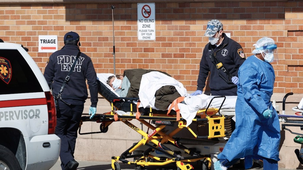 Estados Unidos suma 3 mil 927 muertes por COVID-19 en un solo día - Foto de EFE