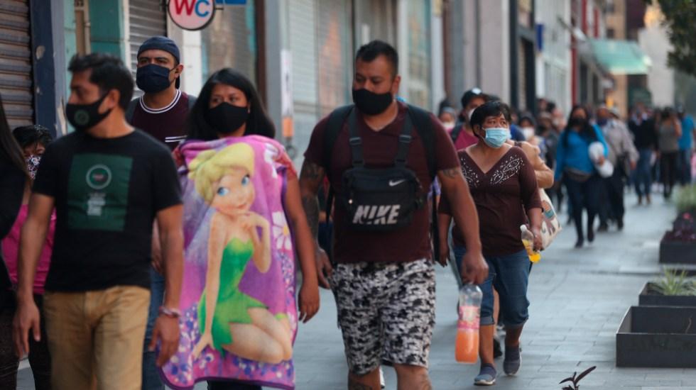 """Semáforo rojo en Valle de México sí va a afectar en lo económico, """"pero no mucho"""": López Obrador - Foto de EFE"""