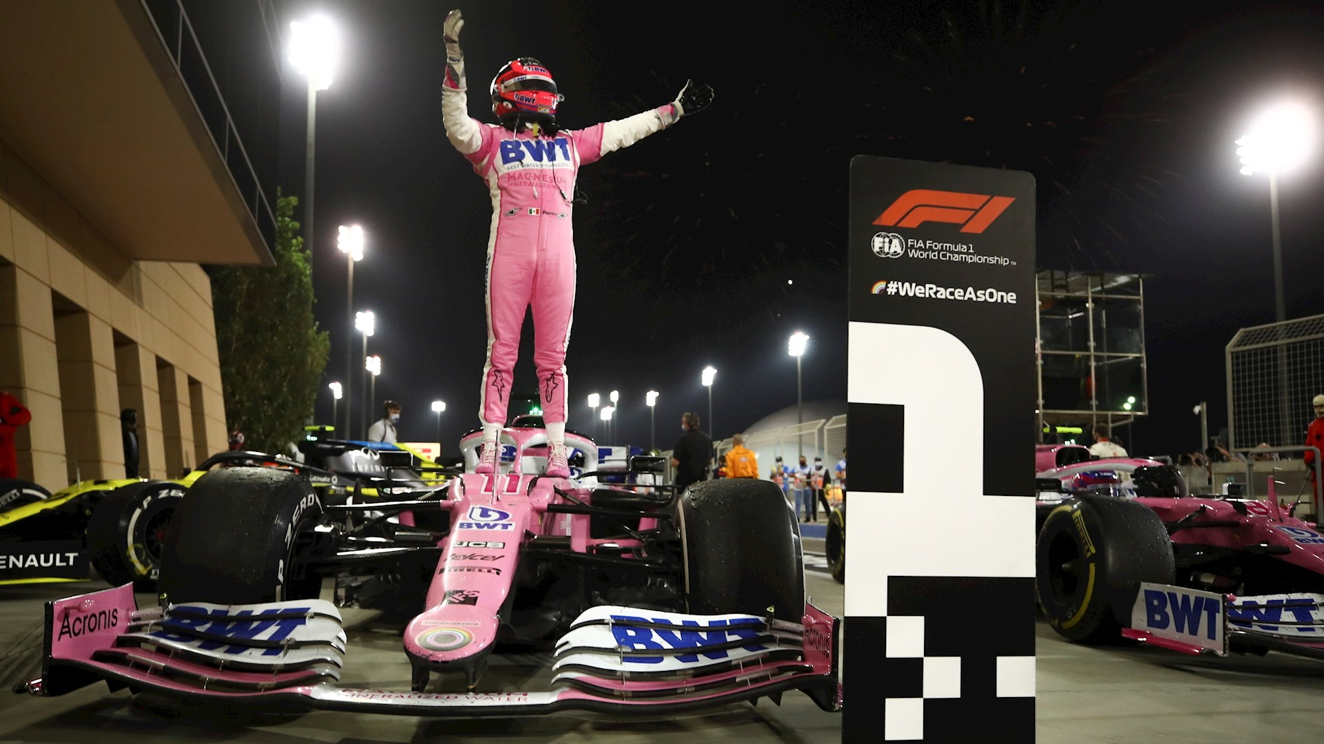 Checo Pérez F1 Gran Premio de Sakhir 4