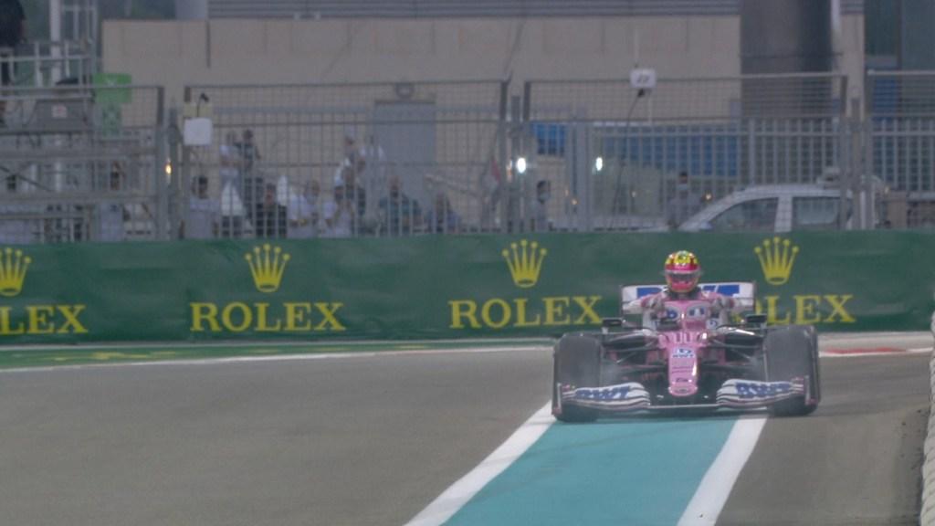 'Checo' Pérez abandona Gran Premio de Abu Dabi en su última carrera con Racing Point - Foto de Fórmula 1